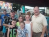 Commissioners Bob Hoffman and Jim Runestad with kids at the Oakland County Fair.