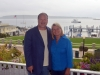 Jim Runestad with Ruth Johnson at the Mackinac Island Leadership Conference.