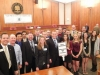"Both Milford and Lakeland High Schools participated in the Oakland County ""Youth In Government"" Day."
