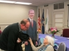 Marie Hewitt had a wonderful 90th birthday party at the Highland Township Hall.